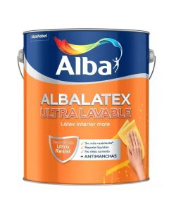 Albalatex Ultra Lavable (Blanco)    1 L