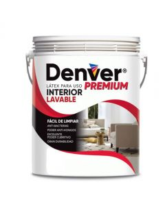 DENVER LÁTEX LAVABLE INTERIOR PREMIUM 20 LITROS